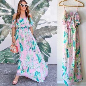 Lilly Pulitzer Zadie Maxi Dress SZ XS